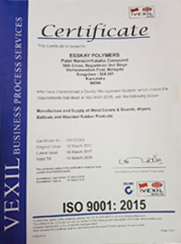 Esskay Polymers ISO Certified Company